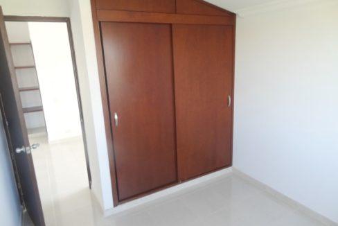 Alcoba con closet