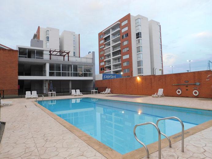 Apartamento en arriendo conjunto residencial St trope sector de valle del lili sur de cali